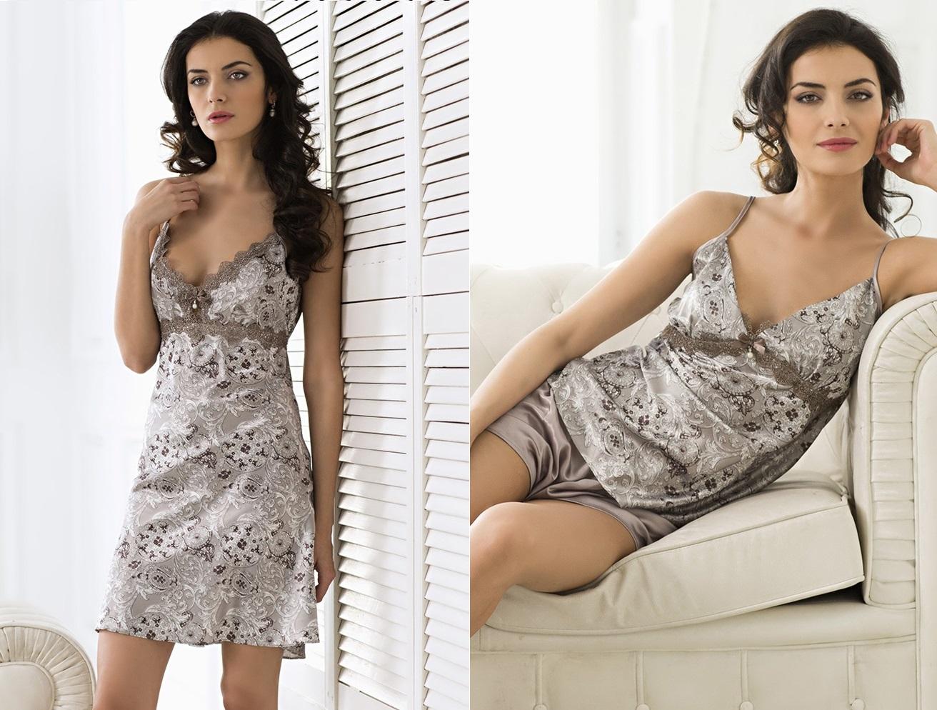 Женские сорочки шелк Mia-Mia Stella