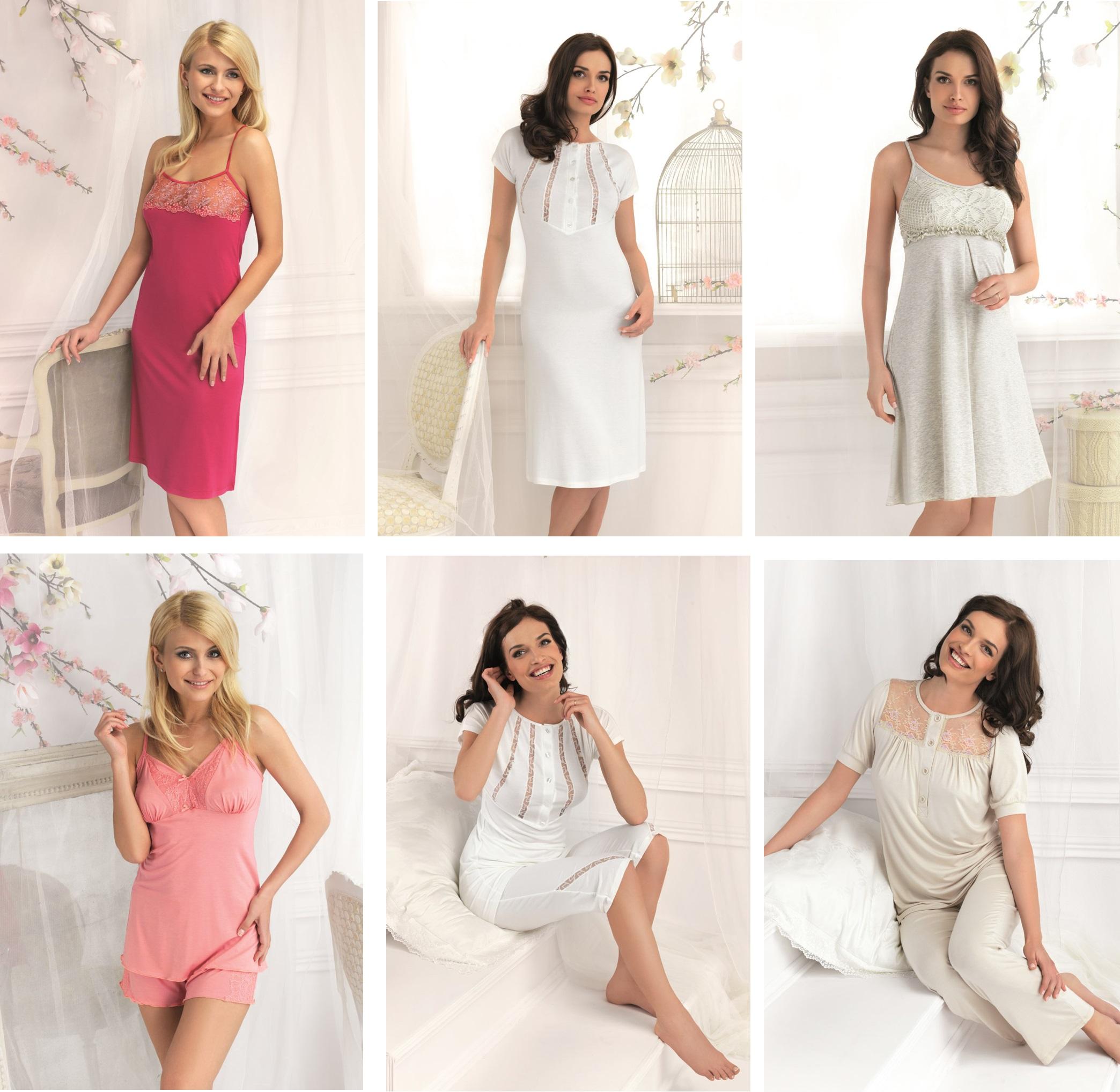 ddd2c10d2f79c Женские сорочки пижамы халаты Vanilla купить в интернет-магазине Киев