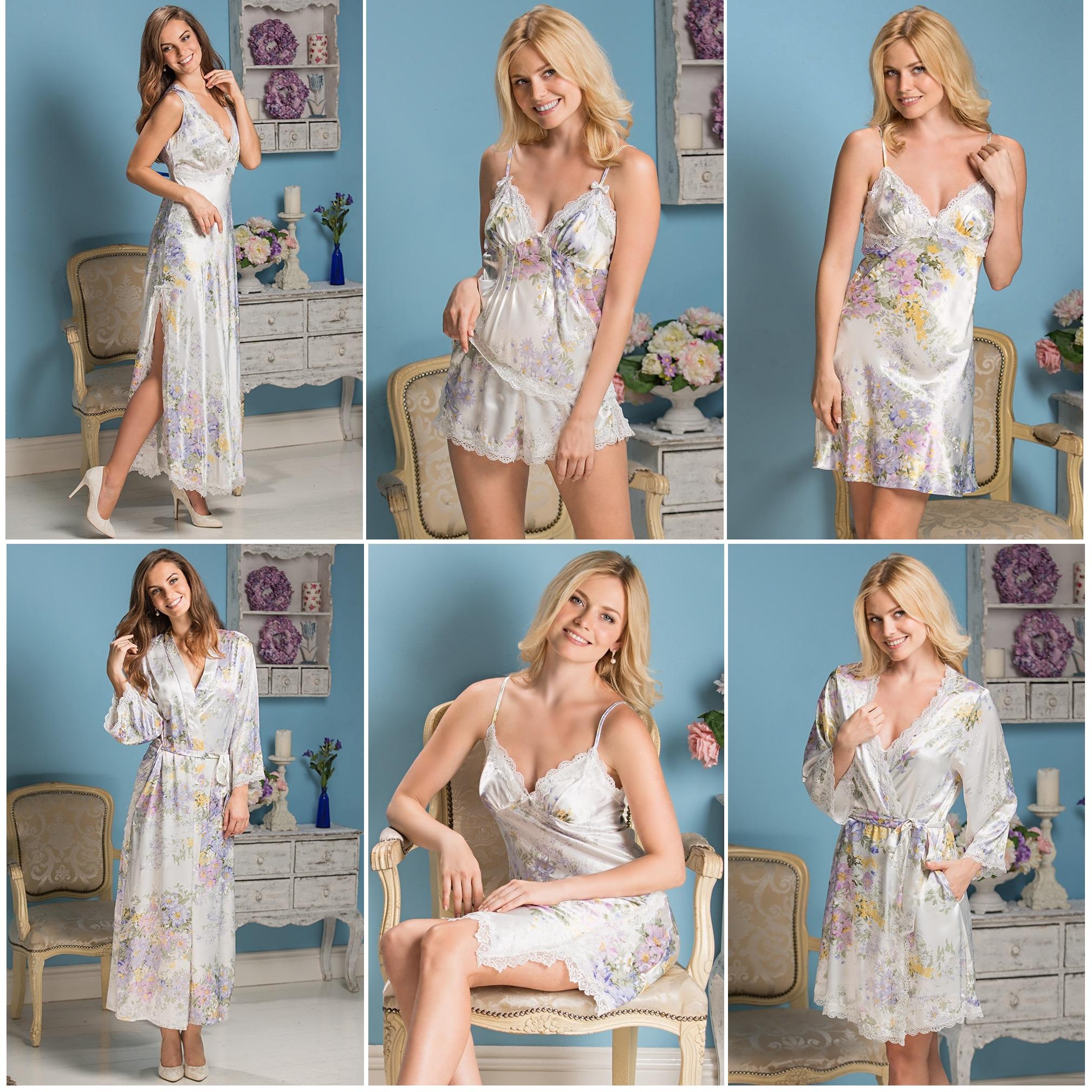 Женские сорочки, халаты, комплекты Lilianna Mia-Mia купить интернет-магазин