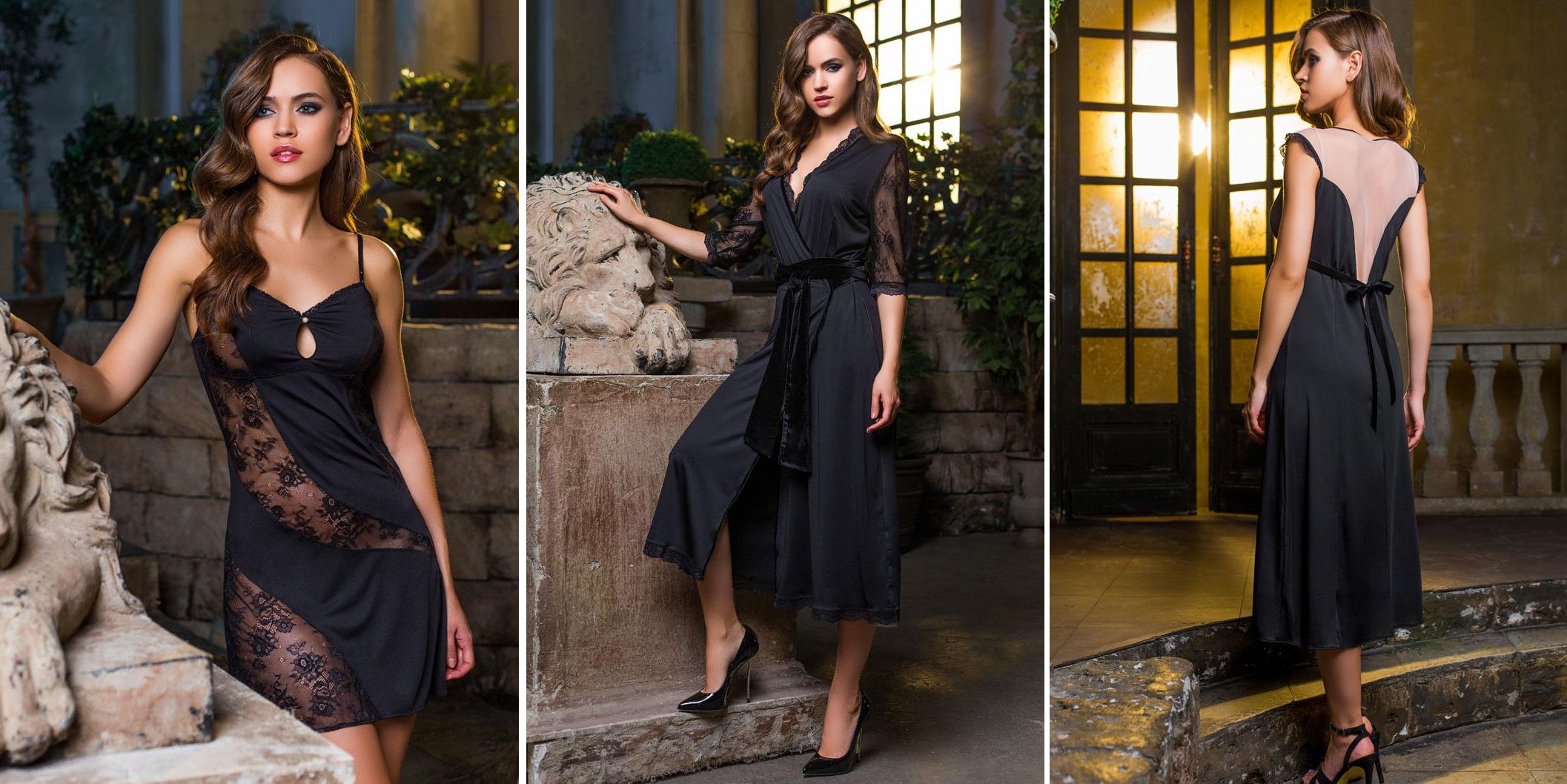 Женские сорочки и халаты Mia-Mia Elegance de Lux купить интернет-магазин