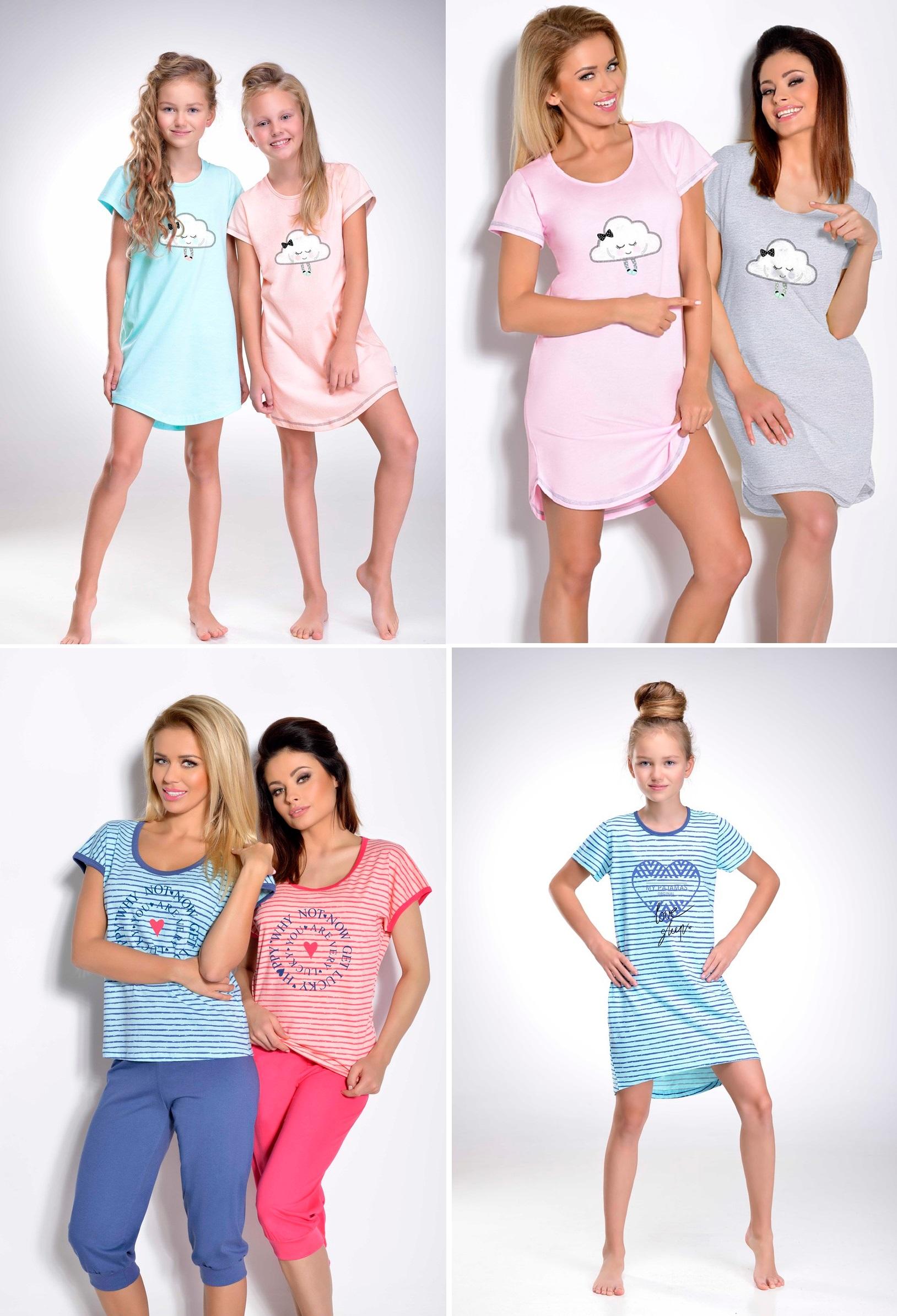 f3102c997da1495 Ночные сорочки для девочек - польский трикотаж ТМ TARO! - relish.com.ua