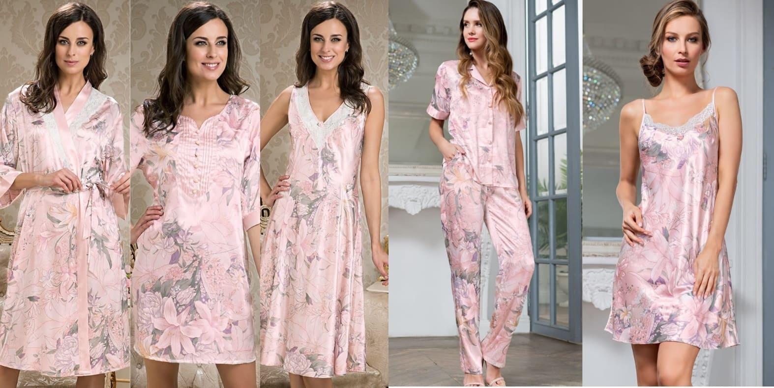 Ночные сорочки пижамы халаты одежда для дома Mia-Mia купить