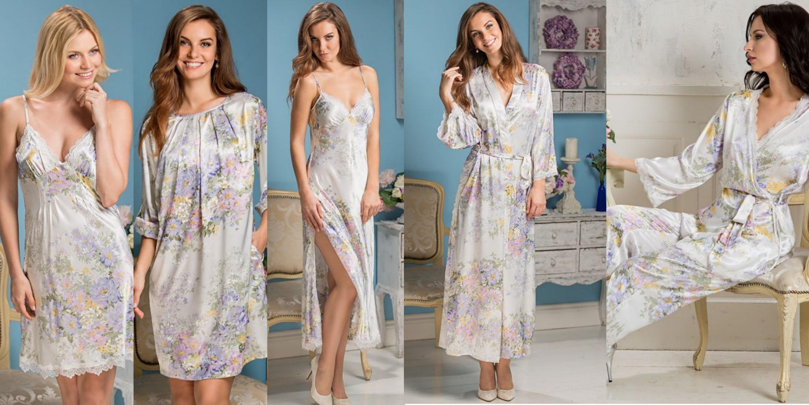 Пижамы, халаты, сорочки Lilianna Mia-Mia купить