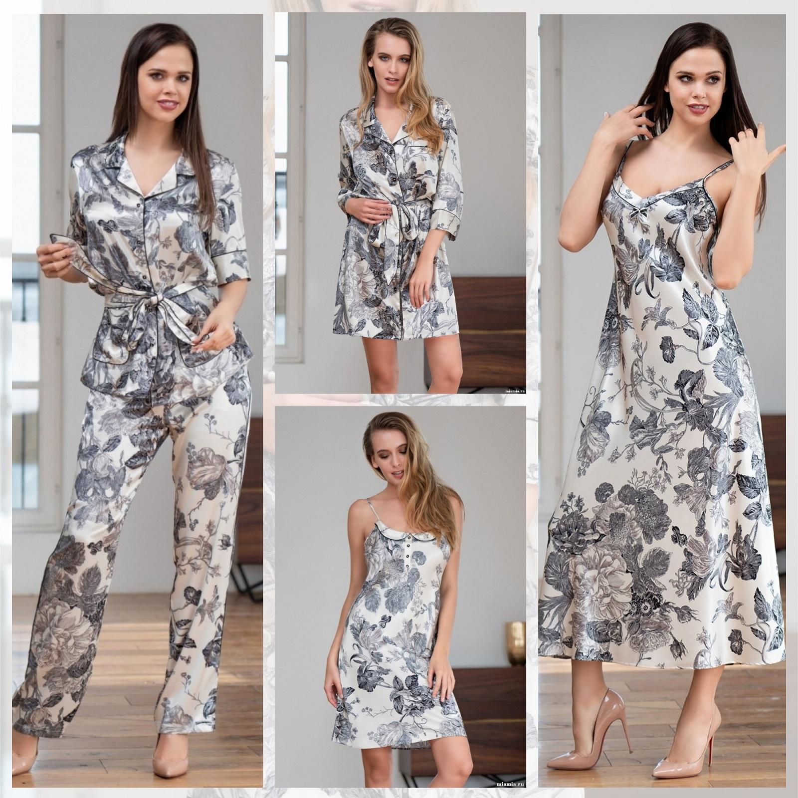 Ночные сорочки пижамы халаты Mia-Mia Letual