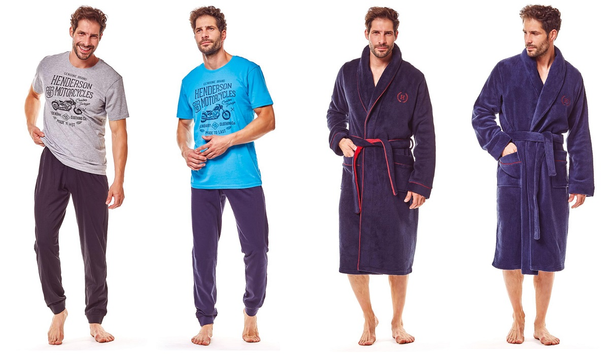 Henderson мужские пижамы халаты купить
