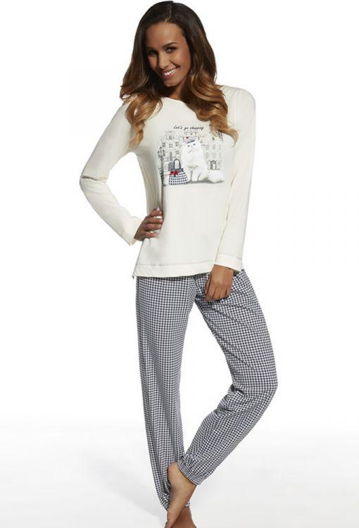 6eae0c3aafd79 Пижама женская Cornette Shopping 627-97 купить в интернет магазине ...