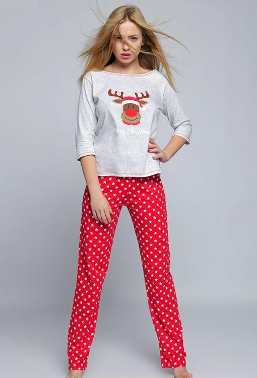 Пижама женская Sensis Merry Christmas купить 07-69 - ХЛОПОК - relish ... 385575c41424f