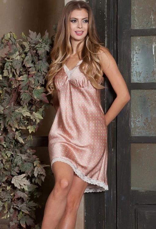 77f75b7517ece85 Ночная сорочка шелк Mia-Mia Agata 15121 купить в интернет магазине ...
