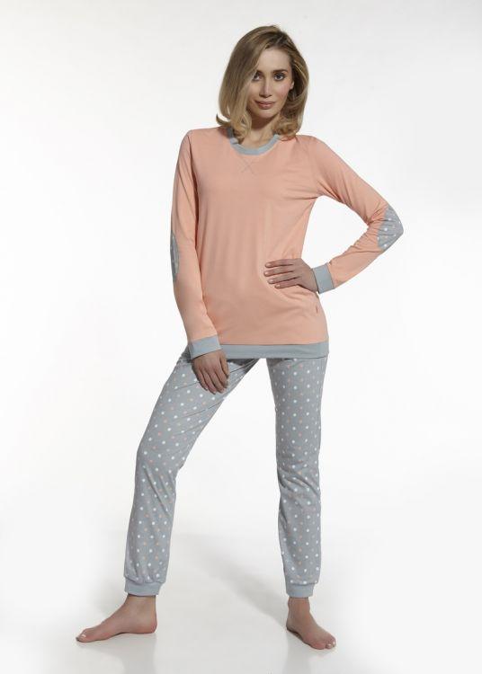 a12b1dc9f9492 Пижама женская хлопок Cornette 634-60 персиковая - купить в интернет ...