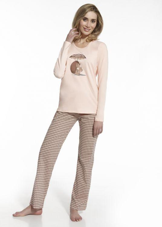 1e346fe7138ab Пижама женская хлопок Cornette 655-41 бежевая - купить в интернет ...