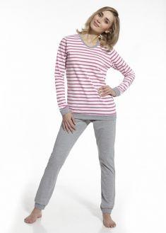 a1bbc75cf240a Пижама женская хлопок Cornette 655-38 серая - купить в интернет ...