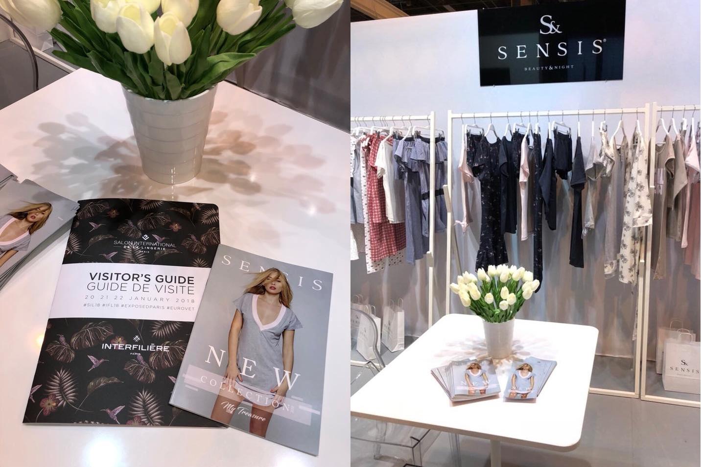 Одежда для дома и сна Sensis на выставке фото