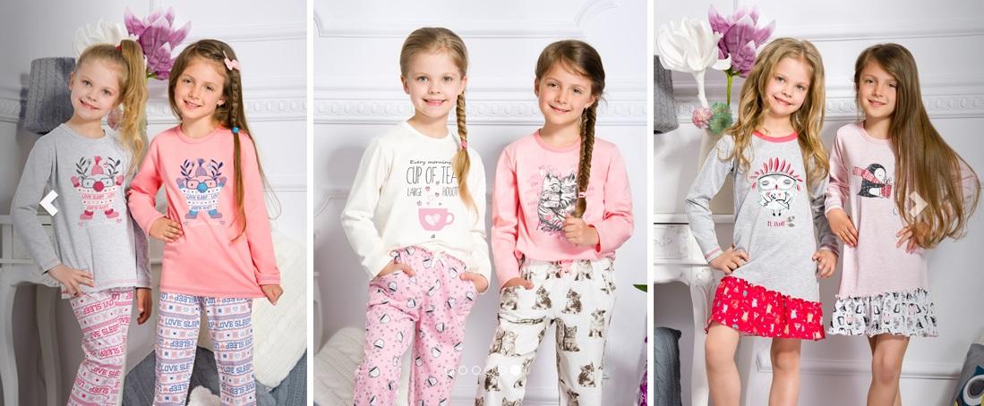 Детские пижамы для девочек купить TARO