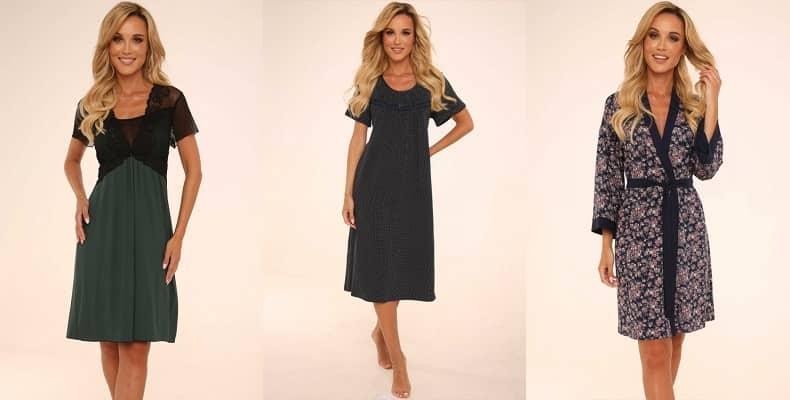 Женственная домашняя одежда в новой коллекции от De Lafense