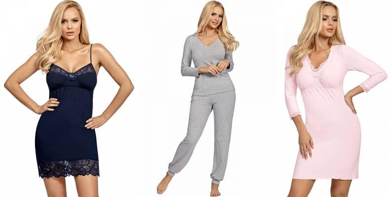 Комфортные ночнушки и пижамы женские в новой коллекции от Donna