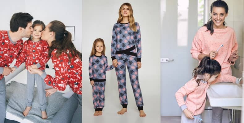 Уютные пижамы для всей семьи в новой коллекции от Ellen