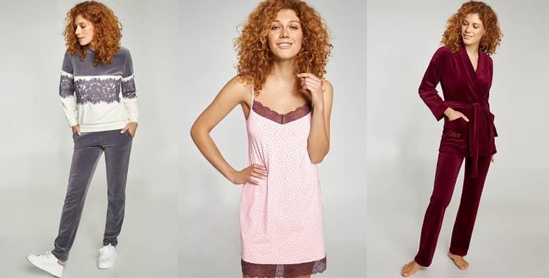 Большой выбор женской домашней одежды в стильной коллекции от Ellen