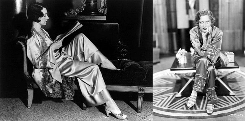 История пижамы – от возникновения до пижамной революции