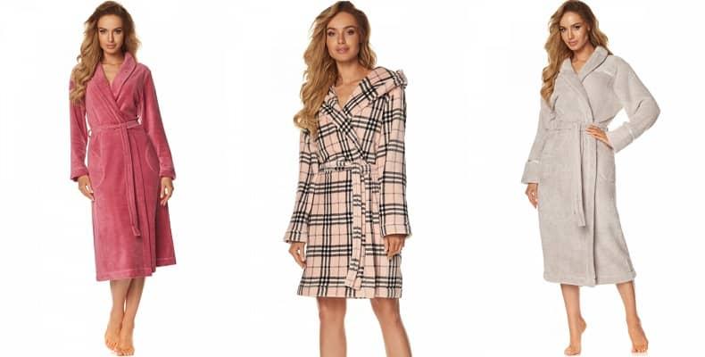 Уютные халаты женские на зиму в новой коллекции от L&L