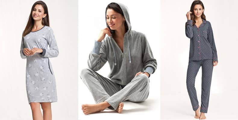 Комфортная женская одежда для дома и сна в новой коллекции от Luna