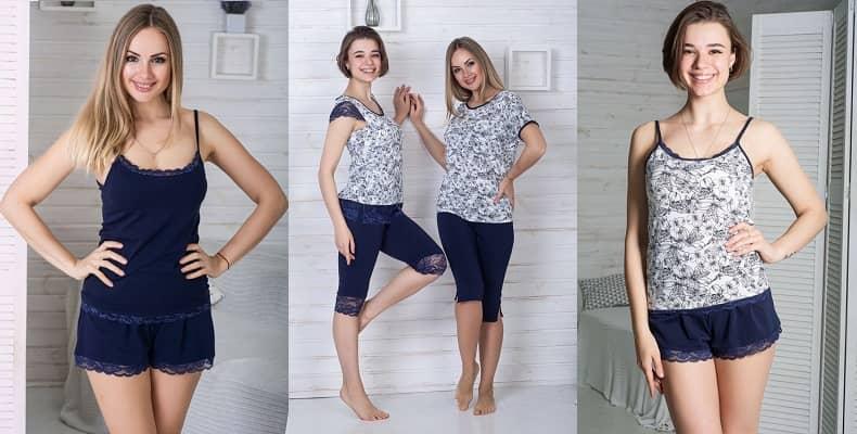 Стильные женские пижамы из хлопка от MiaNaGreen
