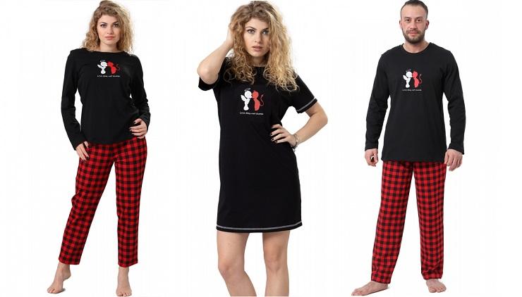 Пижамы и Ночнушки M-Max к Дню Святого Валентина