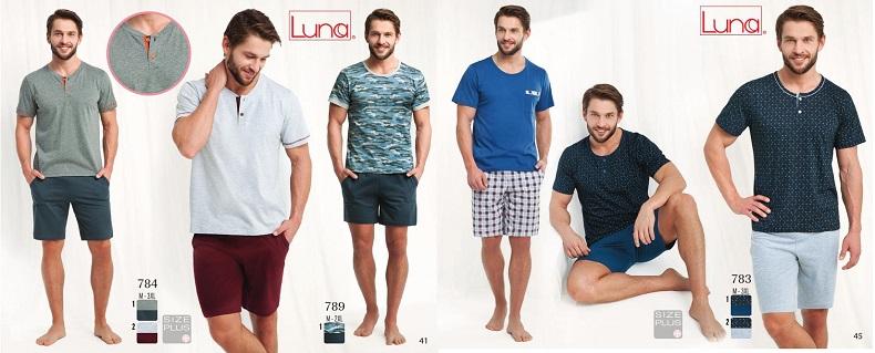Пижамы мужские Luna