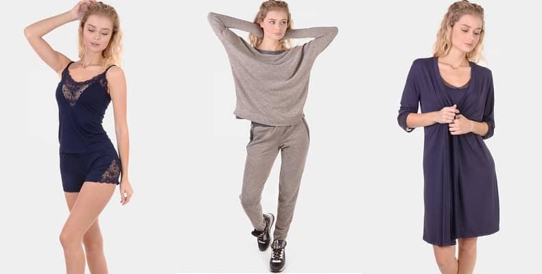 Новая коллекция женской одежды для дома и сна от N.EL