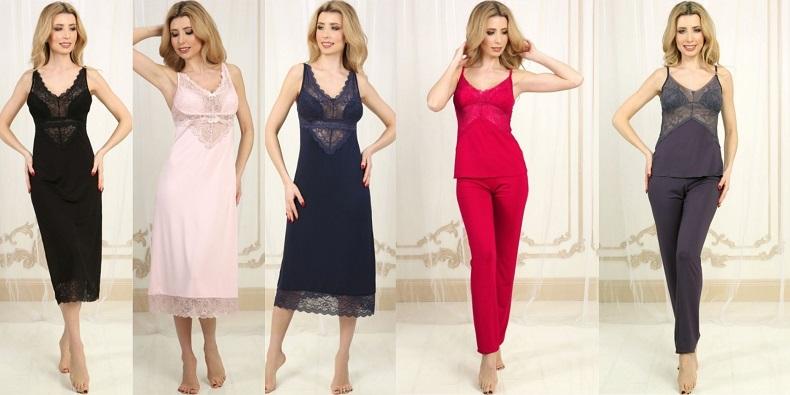 Violet delux ночнушки и пижамы