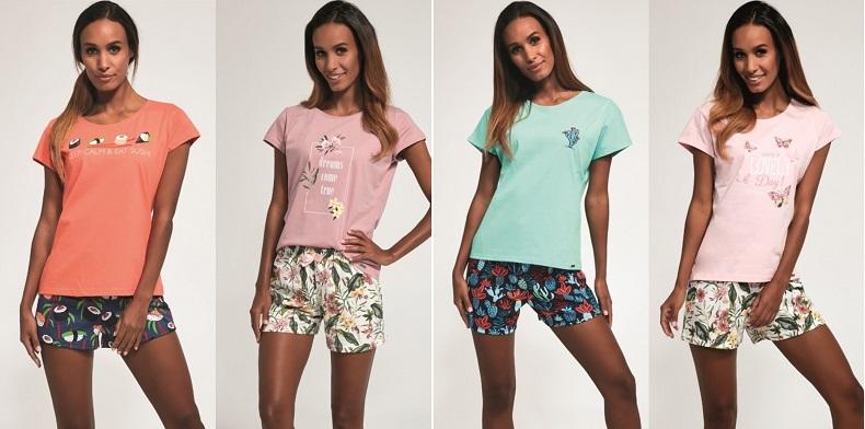 Пижамы женские и мужские - новые модели от Cornette