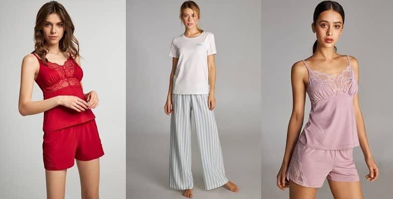 пижамы женские из вискозы