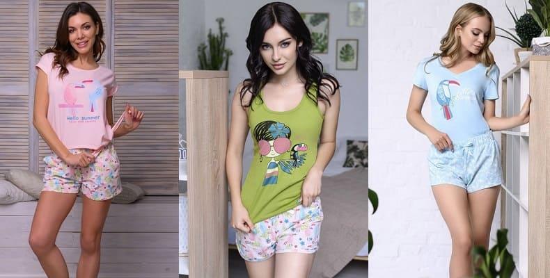 Новая коллекция пижам Summer от Roksana