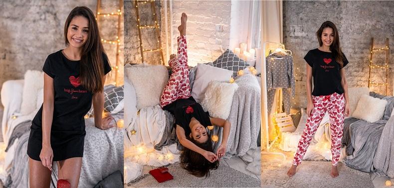 Пижамы и ночнушки к Дню Святого Валентина