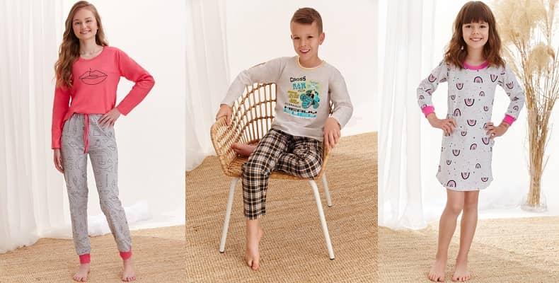 Очаровательная коллекция детской одежды для сна от Taro