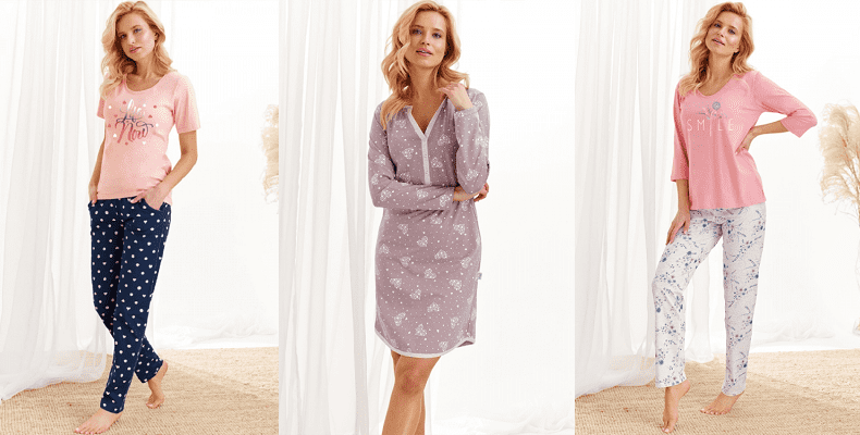 Уютные ночнушки и пижамы в новой коллекции осень-зима от Taro