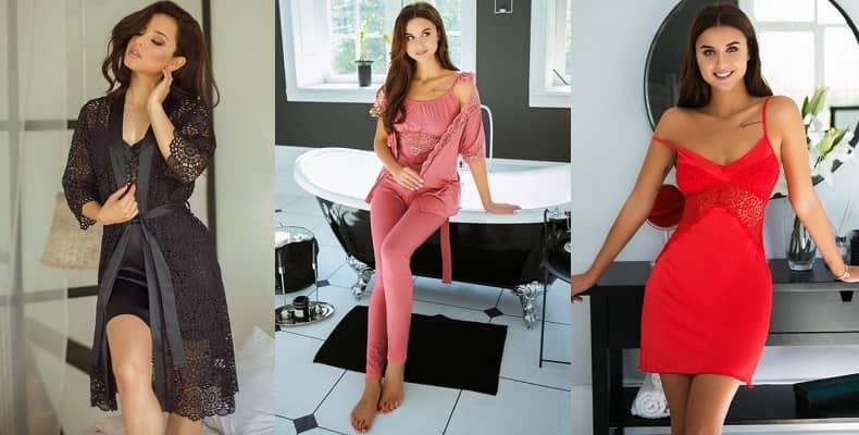 Изысканная одежда для сна в новой коллекции от Violet delux