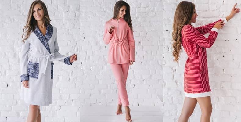 Новые уютные костюмы и халаты женские от Wiktoria